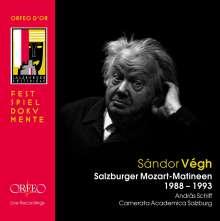 Sandor Vegh - Salzburger Mozart-Matineen, 3 CDs