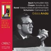 Geza Anda - His Final Salzburg Recital 1972, CD