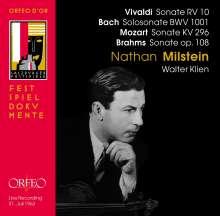 Nathan Milstein - Salzburger Festspiele 1963, CD
