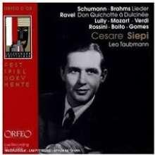 Cesare Siepi - Liederabend, CD