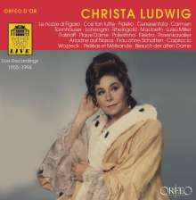 Christa Ludwig - Live Recordings Wiener Staatsoper, 3 CDs