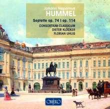Johann Nepomuk Hummel (1778-1837): Septette opp.74 & 114, CD