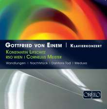 Gottfried von Einem (1918-1996): Klavierkonzert op.20, CD
