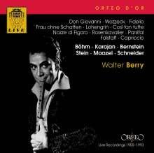 Walter Berry singt Arien & Lieder, CD