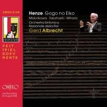 Hans Werner Henze (1926-2012): Gogo No Eiko - Das verratene Meer (Version 2003/2005), 2 CDs