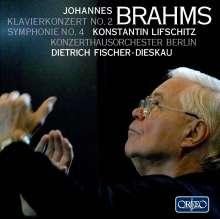 Johannes Brahms (1833-1897): Symphonie Nr.4, 2 CDs
