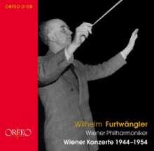 Wilhelm Furtwängler - Die Wiener Konzerte 1944-1954, 18 CDs