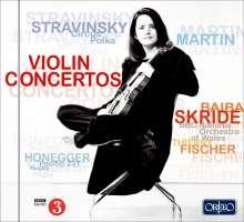 Baiba Skride spielt Violinkonzerte, CD