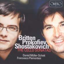 Daniel Müller-Schott - Britten / Prokofieff / Schostakowitsch, CD