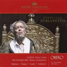 Ferruccio Furlanetto  - Verdi & Mussorgsky, CD