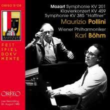 Wolfgang Amadeus Mozart (1756-1791): Symphonien Nr.29 & 35, CD