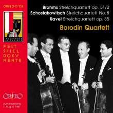 Borodin Quartet - Brahms / Schostakowitsch / Ravel, CD