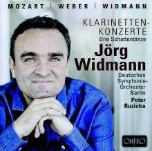 Jörg Widmann - Klarinettenkonzerte, CD