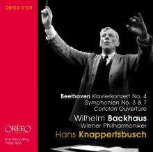 Ludwig van Beethoven (1770-1827): Symphonien Nr.3 & 7, 2 CDs