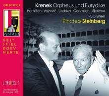 Ernst Krenek (1900-1991): Orpheus und Eurydice, 2 CDs