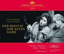 Gottfried von Einem (1918-1996): Der Besuch der alten Dame, 2 CDs