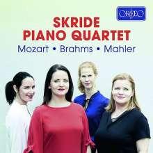 Skride Piano Quartet - Mozart / Brahms / Mahler, CD