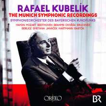 Rafael Kubelik - The Munich Symphonic Recordings, 15 CDs