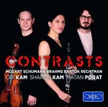 Sharon Kam - Contrasts, CD