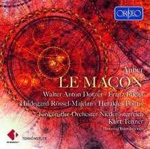 Daniel-Francois-Esprit Auber (1782-1871): Le Macon, CD