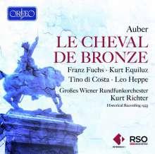 Daniel-Francois-Esprit Auber (1782-1871): Le Cheval de Bronze (in deutscher Sprache), 2 CDs
