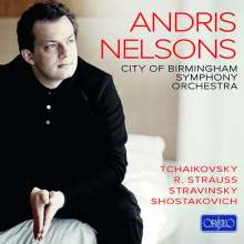 Andris Nelsons dirigiert das City of Birmingham Symphony Orchestra (Orfeo Recordings), 9 CDs