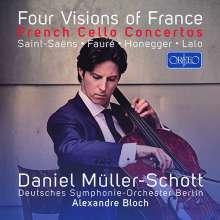 Daniel Müller-Schott - Four Visions of France, CD