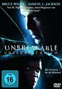 Unbreakable - Unzerbrechlich, DVD