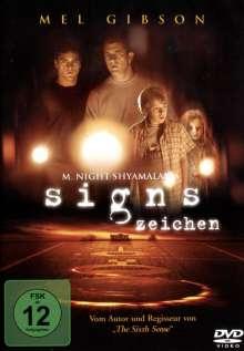Signs - Zeichen, DVD