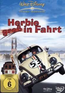 Herbie groß in Fahrt, DVD