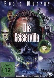 Die Geistervilla, DVD