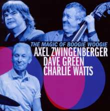 Axel Zwingenberger, Dave Green & Charlie Watts: The Magic Of Boogie Woogie, CD
