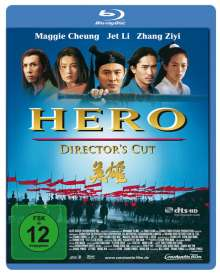 Hero (2002) (Director's Cut) (Blu-ray), Blu-ray Disc