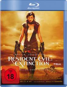 Resident Evil: Extinction (Blu-ray), Blu-ray Disc