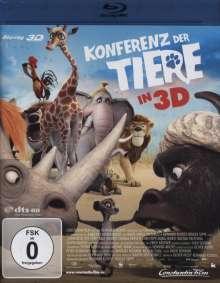 Konferenz der Tiere (2009) (3D Blu-ray), Blu-ray Disc