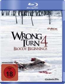 Wrong Turn 4 - Bloody Beginnings (Blu-ray), Blu-ray Disc