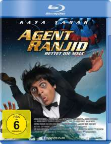 Agent Ranjid rettet die Welt (Blu-ray), Blu-ray Disc