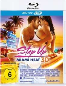 Step Up: Miami Heat (3D Blu-ray), Blu-ray Disc
