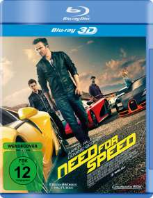 Need for Speed (3D Blu-ray), Blu-ray Disc