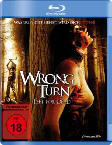 Wrong Turn 3 - Left for Dead (Blu-ray), Blu-ray Disc