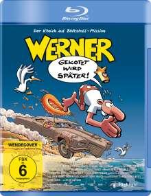Werner - Gekotzt wird später! (Blu-ray), Blu-ray Disc