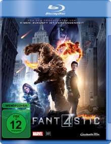 Fantastic Four (2015) (Blu-ray), Blu-ray Disc