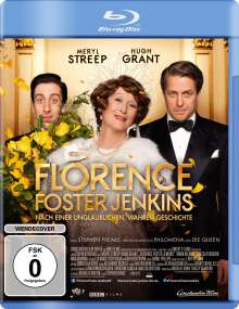 Florence Foster Jenkins (Blu-ray), Blu-ray Disc