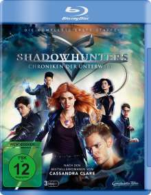 Shadowhunters: Chroniken der Unterwelt Staffel 1 (Blu-ray), Blu-ray Disc