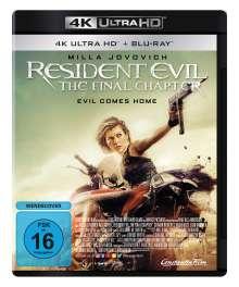 Resident Evil: The Final Chapter (Ultra HD Blu-ray & Blu-ray), 1 Ultra HD Blu-ray und 1 Blu-ray Disc