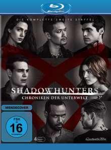 Shadowhunters: Chroniken der Unterwelt Staffel 2 (Blu-ray), 4 Blu-ray Discs