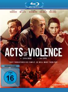 Acts of Violence (Blu-ray), Blu-ray Disc