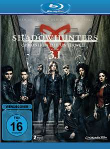 Shadowhunters: Chroniken der Unterwelt Staffel 3 Box 1 (Blu-ray), 2 Blu-ray Discs