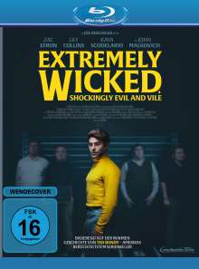 Extremely Wicked, Shockingly Evil and Vile (Blu-ray), Blu-ray Disc