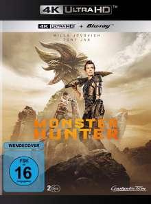 Monster Hunter (Ultra HD Blu-ray & Blu-ray), 1 Ultra HD Blu-ray und 1 Blu-ray Disc